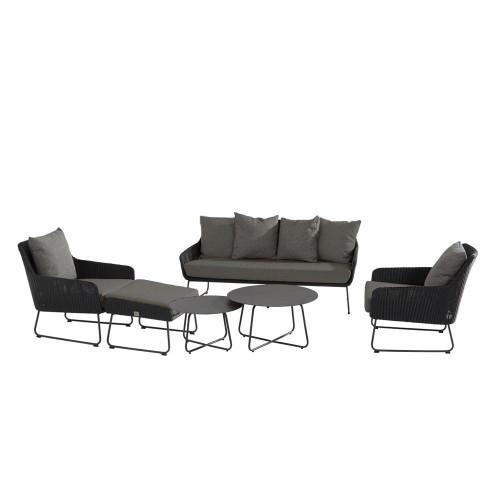 4 Seasons Outdoor - Avila 6 Piece Rattan Sofa Set With Footstool
