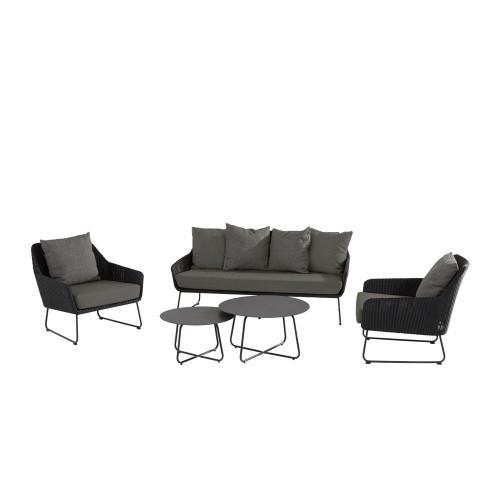 4 Seasons Outdoor - Avila 5 Piece Rattan Sofa Set