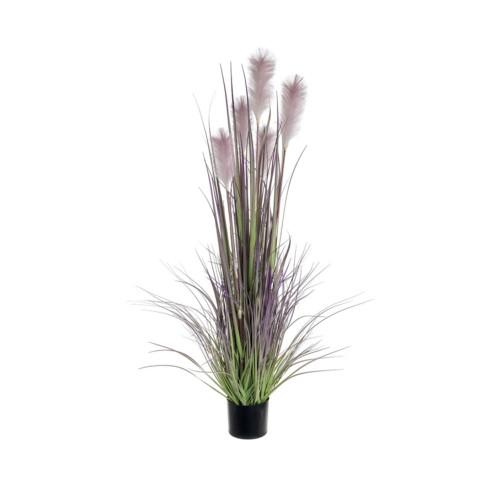 Artificial Allium Grass 92cm, Green