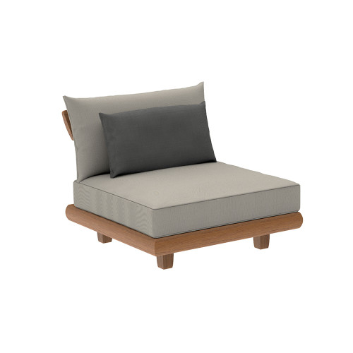 Alexander Rose - Sorrento Lounge Mid Module with Cushion