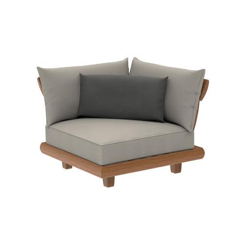 Alexander Rose - Sorrento Lounge Corner Module with Cushion