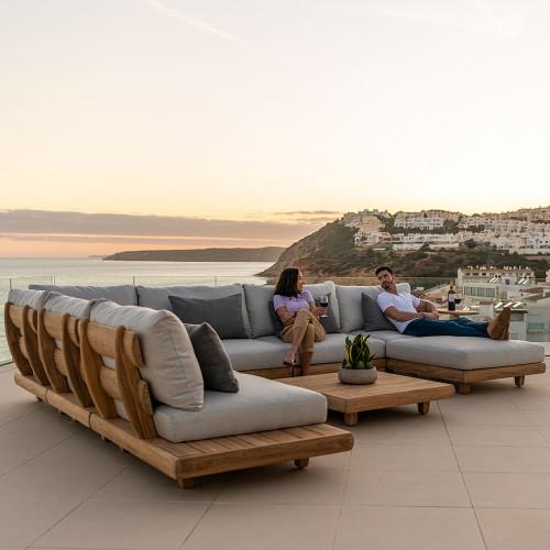 Alexander Rose - Sorrento Corner Lounge Set