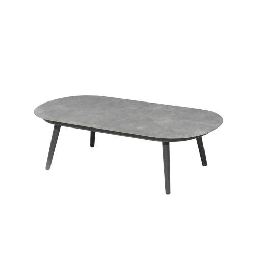 Alexander Rose - Rimini Oval Coffee Table 1.3m x 0.6m