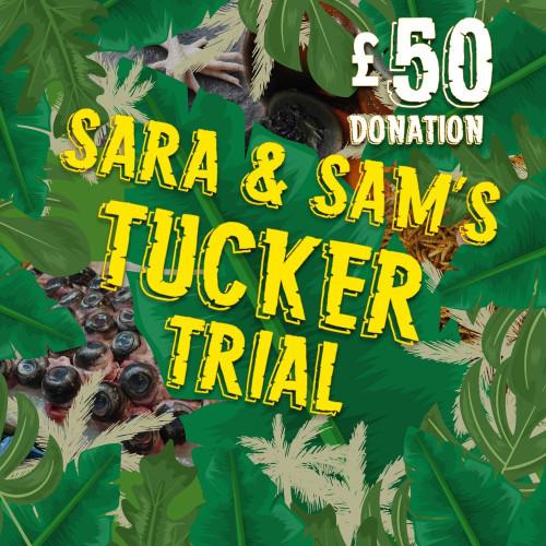 Sponsor Sara and Sam's Tucker Trial
