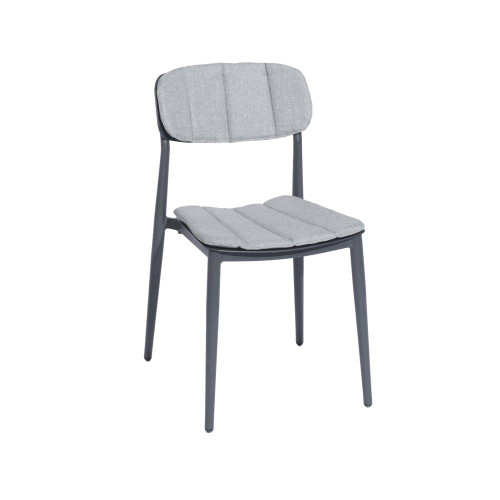 Alexander Rose Rimini Stacking Sidechair with Cushions