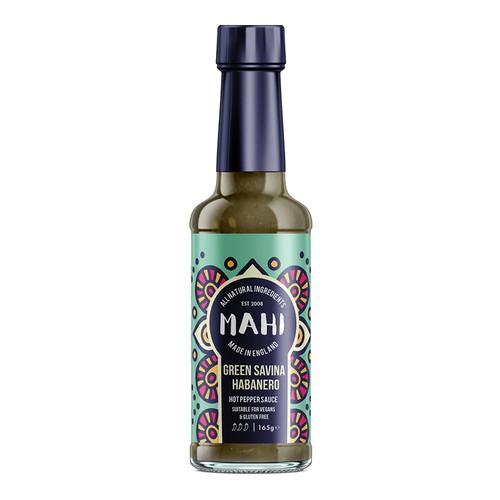 Mahi Green Savina Habanero Hot Pepper Sauce