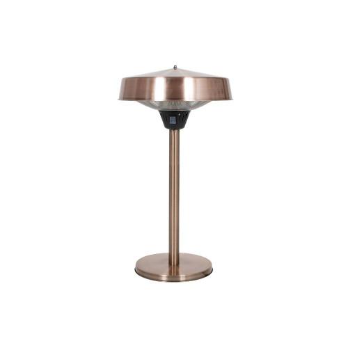 Copper Tabletop Halogen Electric Heater