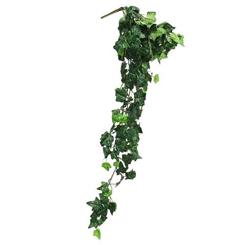 UV Resistant Artificial Mini English Ivy Bush, Green (4ft)