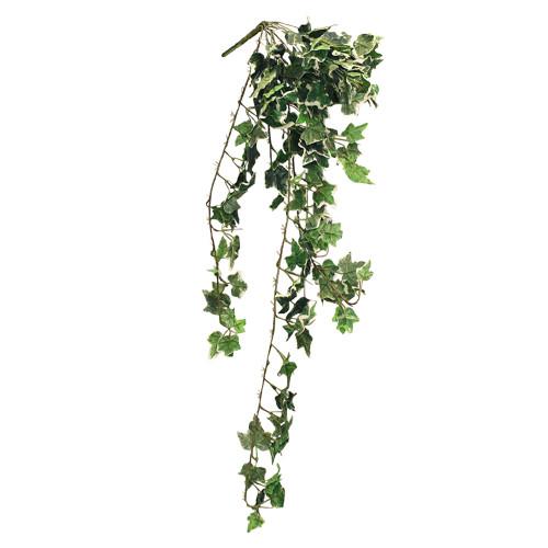 UV Resistant Artificial Mini Holland Ivy Bush, Green (4ft)