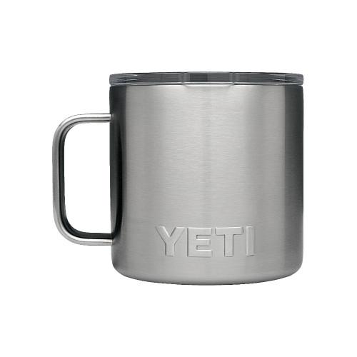 YETI Rambler 14 Oz Mug - Stainless Steel