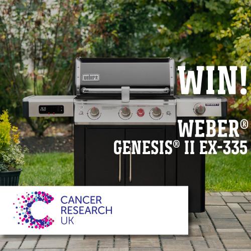 WIN a Weber® Genesis® II EX-315 GBS®