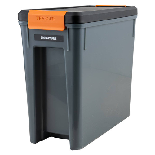 TREAGER STAY DRY PELLET BIN AND LID