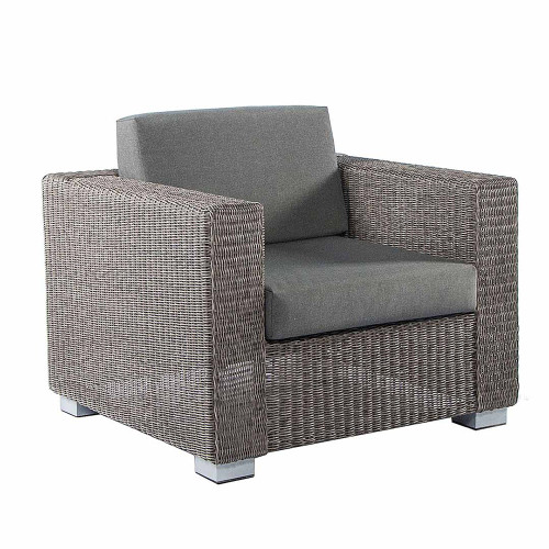 Alexander Rose Monte Carlo Rattan Lounge Chair With Cushions
