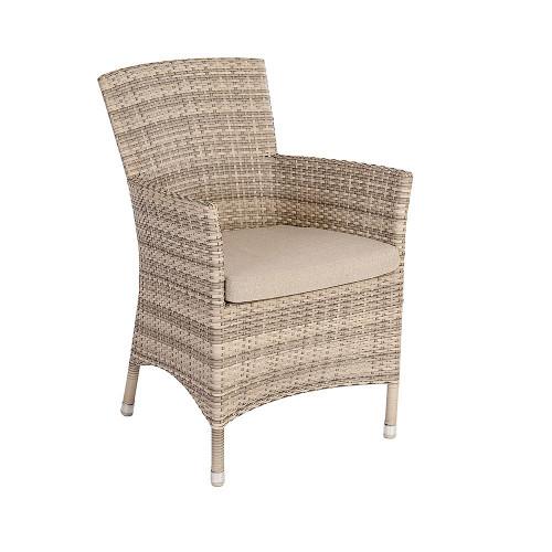 Alexander Rose Ocean Pearl Wave Armchair With Cushion