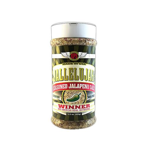 Big Poppa Smokers 'Jallelujah' Jalapeno Salt - 212g (7.5oz)