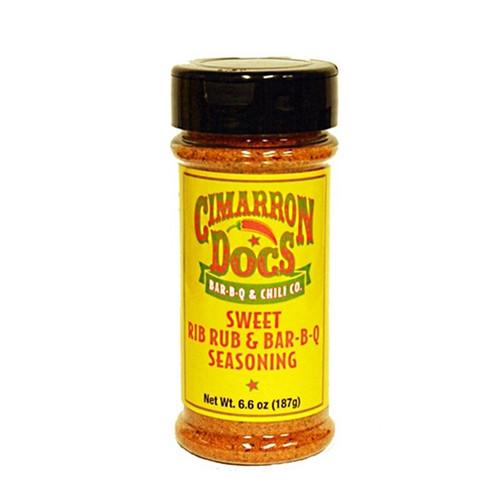 Cimarron Doc's Sweet Rib Rub Seasoning - 187g