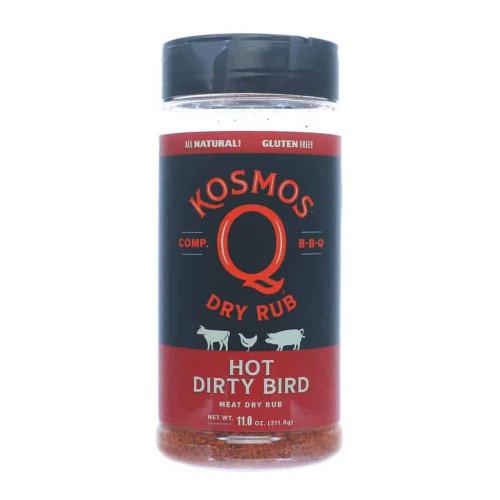 Kosmo's Q Dirty Bird - HOT BBQ Rub - 312g (11oz)