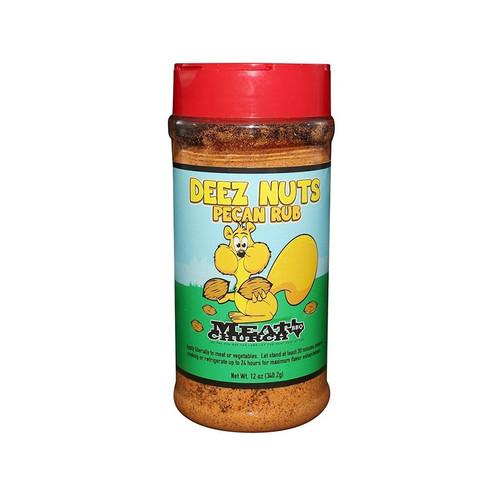 Meat Church Deez Nuts Honey Pecan BBQ Rub - 397g (14 Oz)