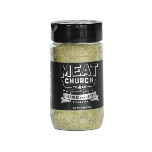 Meat Church Gourmet Garlic & Herb Seasoning - 170g (6 oz)