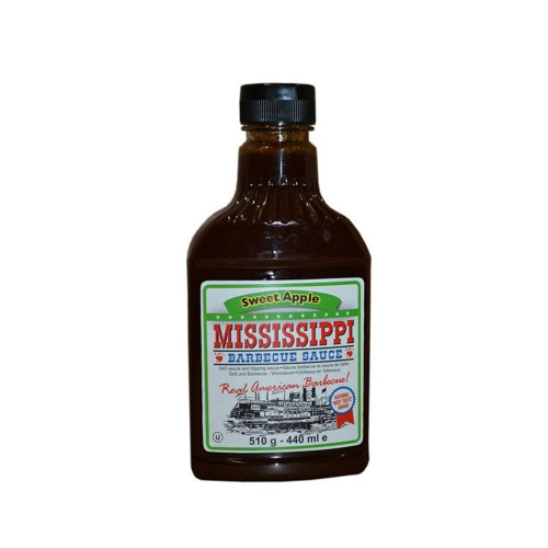 Mississippi Barbecue Sauce Sweet Apple 510g
