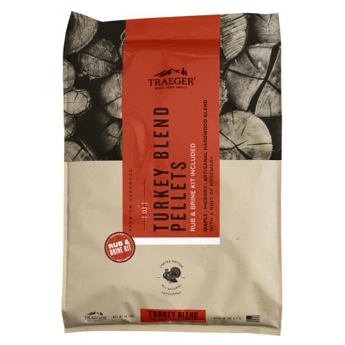 Traeger Turkey Pellets and Brine Kit - Limited Edition