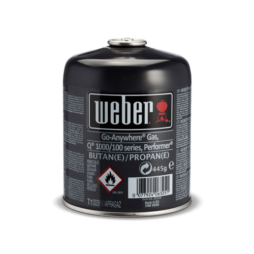 Weber® Disposable Gas Canister (445g)