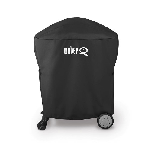 Weber® Premium Cover For Q® 1000 & Q® 2000 Series With Stand Or Portable Cart