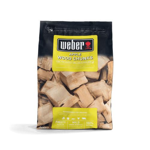 Weber® Apple Wood Chunks (1.5kg)