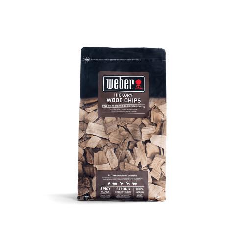 Weber® Hickory Wood Chips, (0.7kg)