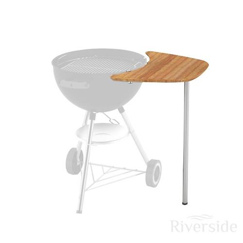 Weber® Sidekick Bamboo Table (For 47cm & 57cm BBQs)