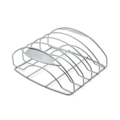 Weber® Large Stainless Steel Rib Rack