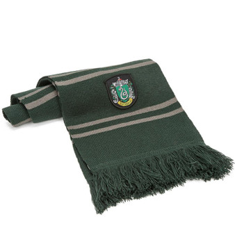 Slytherin Heavy Scarf with Tassels