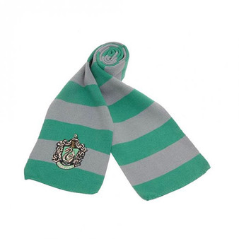 Slytherin Embroidered Light Scarf