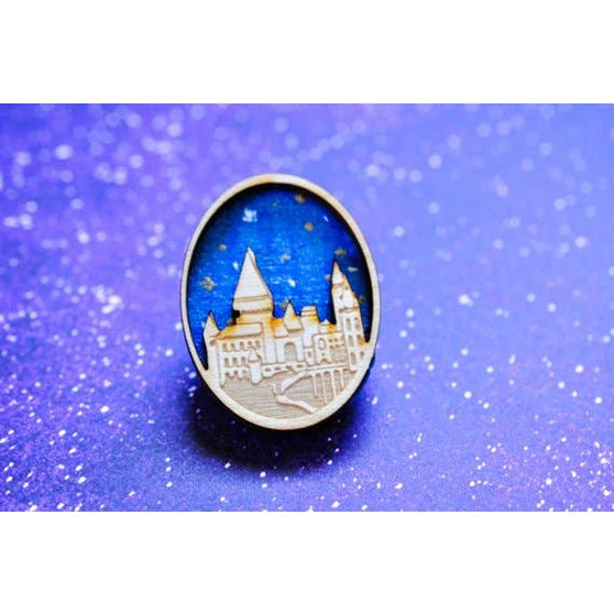 Hogwarts Is My Home Pin