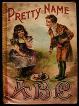 PRETTY NAME ABC, by McLoughlin Bros - 1900
