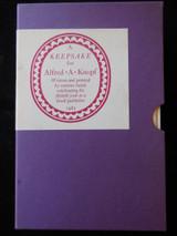 A KEEPSAKE FOR ALFRED A KNOPF - 1965 [Ltd Ed]