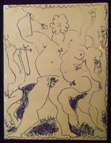 2 Original Lithos PICASSO LITHOGRAPHE Vol 3 Fernand Mourlot 1956 French 1st Ed