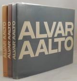 ALVAR AALTO, by Karl Fleig - 1965 [3 Volumes Complete Works w/ DJ]