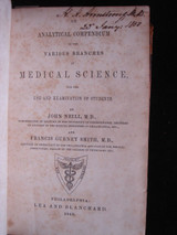 Analytical Compendium of the Various Branches of Medical Science - 1848