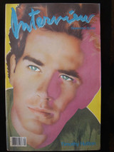 Andy Warhol's INTERVIEW MAGAZINE Timothy Hutton Tom Cruise Jamie Lee Curtis