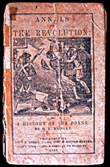 ANNALS OF THE REVOLUTION: HISTORY OF THE DOANS, by Henry K. Brooke - 1843