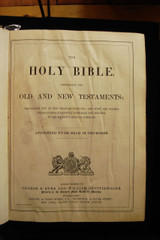 KING JAMES HOLY BIBLE, Photos by FRANCIS FRITH - c.1869