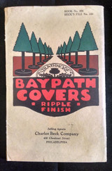 BAY PATH COVERS - RIPPLE FINISH, by Strathmore Paper [Samples] - c.1915