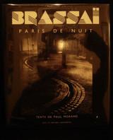 BRASSAI PARIS DE NUIT Paul Morand Scarce Dust Jacket Art Photography France HB