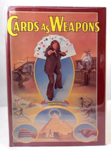 CARDS AS WEAPONS, by Ricky Jay - 1977 [1st Ed]