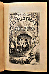 CHRISTMAS SHADOWS: A TALE OF THE POOR NEEDLE WOMEN, illustrated by Alfred Ashley - 1853