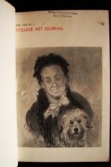 COLLEGE ART JOURNAL 1955-1957 CAA 8 Vol. Hardbound art history criticism theory