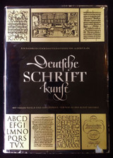 DEUTSCHE SCHRIFTKUNST, by Albert Kapr - 1959
