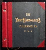 DENT HARDWARE CATALOGUE OF REFRIGERATOR HARDWARE - 1911 [vol B]