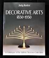 DECORATIVE ARTS 1850-1950, by J. Rudoe - 1991
